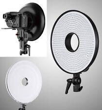 Lampe bicouleur Falcon annulaire DVR 630 LED pour Nikon Canon photo/caméra