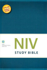 NEW Hardcover! Zondervan NIV Study Bible (Revised Full-Color Edition)