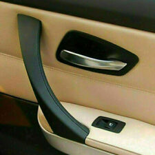 1Pezzi Portiera destra maniglia interna Trim Cover nero per BMW serie 3 E90 E91