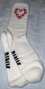 Victoria's Secret PINK Marshmallow Crew Socks 1 Pair New