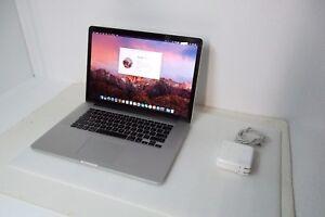 Apple MacBook Pro RETINA Intel Core i7 2.60GHz 8GB 480GB SSD Wi-Fi WebCAM A1398