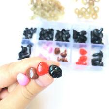 75pcs Animal Plastic  Washers Puppet Doll Nose Plush Toy DIY Crafts Safety Eye