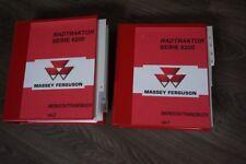 MASSEY FERGUSON MF 6270 6280 6290 REPARATURHANDBUCH WERKSTATTHANDBUCH