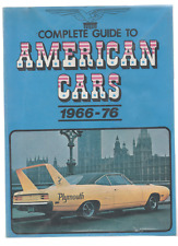 MIKE LINTERN COMPLETE GUIDE TO AMERICAN CARS 1966 - 76 FIRST EDITION PB 1977