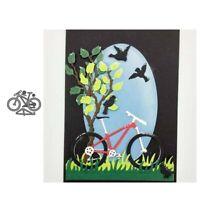 Stanzschablone Fahrrad Hochzeit Weihnachts Oster Geburstag Karte Album Deko DIY