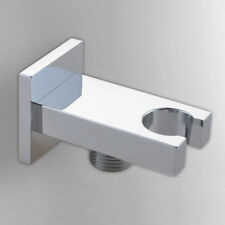Shower Outlet Elbow Holder For Hose Brass Head Bracket Wall Connector Square