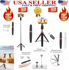 Selfie Stick Tripod Remote Shutter Extendable Monopod For iPhone and Samsung