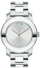Movado Swiss  BOLD 3600638 Women's White Ceramic Crystal Swiss 36mm Watch