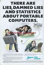 Zenith Data Systems 1988 Magazine Advert #3921