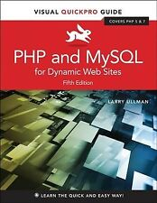 Php and MySql for Dynamic Web Sites, Paperback by Ullman, Larry, Brand New, F.