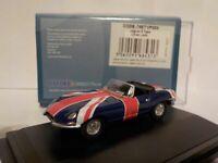 Model Car, Jaguar, union jack,  1/76 New