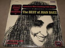 JOAN BAEZ The BEST of RARE SEALED New Vinyl LP 1963 SQ 33001 NoCut Greatest Hits