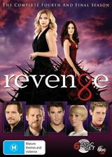 Revenge : Season 4 (DVD, 2015, 6-Disc Set) R4