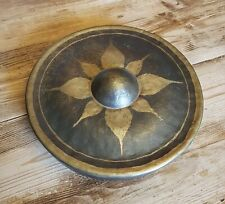 More details for original antique old vintage burmese tibetan bronze temple gong