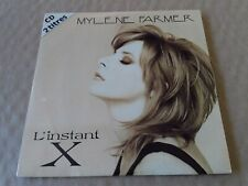 Mylene farmer-l'instant X Cd Single 2 Titres Vg++ 1995