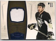 Jordan Staal 10-11 Panini Dominion Game Worn Jersey Patch /25