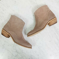 RAVELLA   Womens Suede Leather Ankle Boots / Shoes  [ Size 7 ]