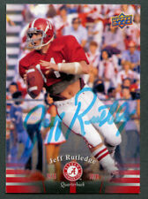 Jeff Rutledge #29 signed autograph auto 2012 Upper Deck Alabama Football Card