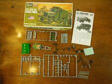 Vintage Hasegawa U.S. Army GMC CCKW-353 Cargo Truck WWII 1/72 Scale Model Kit
