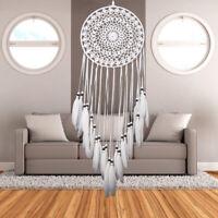 Large Feathers Dream Catcher Dreamcatcher Craft Car Wall Hanging Decor Ornament