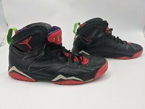 Men's Black With Red/Green & Purple High Top Jordan's Number 23