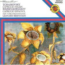 CD - TCHAIKOVSKY - CAPRICCIO ITALIEN - BERNSTEIN
