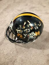 STEEL CURTAIN Hand Painted Pittsburgh Steelers ProLine Helmet HOF Joe Greene 1/1