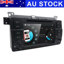 "HD 7"" Car DVD Player GPS Stereo Radio Head Unit BMW 3er E46 M3 Rover75 MG ZT BT"