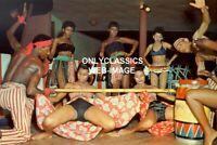 1965 SEXY JAMAICAN GIRLS DOING LIMBO DANCE JAMAICA 4X6 PHOTO HOW LOW CAN YOU GO