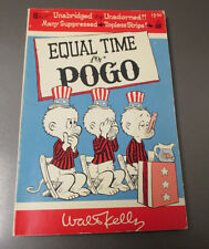 1968 Equal Time For POGO by Waly Kelly SC 1st Printing FN+