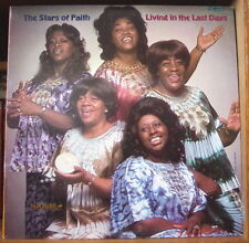THE STARS OF FAITH LIVING IN THE LAST DAYS FRENCH LP VANGUARD 1978