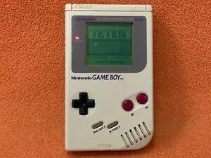 Original Grey Nintendo Game Boy System Console Tested Working DMG-01