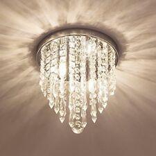 Lifeholder Mini Chandelier, Crystal Chandelier Lighting, 2 Lights, Flush Mount
