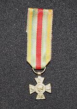 Wwi France Croix du Combattant Volontaire Miniature Medal 1914-18