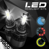 XENTEC LED HID Headlight kit 9006 White for 1991-2000 Chevrolet C3500HD