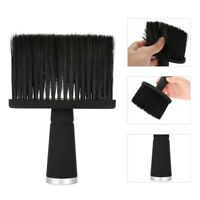 Black Soft Neck Face Duster Brush Barber Hair Cleaning Remove Salon Tool