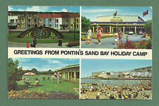 1970 MULTI VIEW PC PONTIN'S SAND BAY HOLIDAY CAMP WESTON-SUPER-MARE