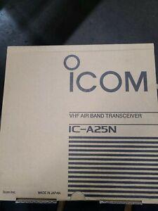 ICOM IC-A25N Handheld Nav/Com Transceiver w/Bluetooth