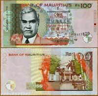 MAURITIUS 100 rupees 2013 P-56 UNC
