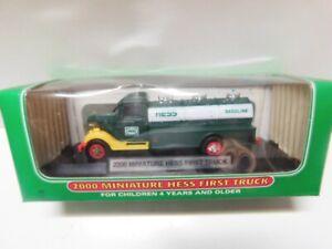 Hess Miniature Trucks -- 2000 First Truck