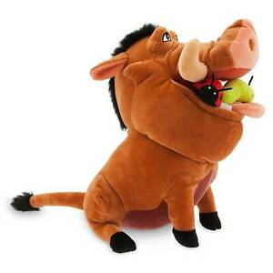 DISNEY Lion King Pumbaa Medium Soft Toy Plush - Height 33cm **NEW**