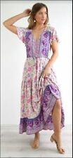ANNABELLE MAXI DRESS - PURPLE - NWT SZ 8 - 16 - S0085 - 20 - GENEROUS