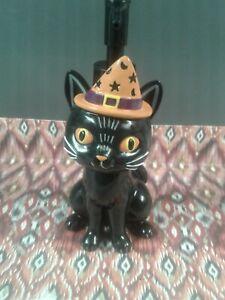Black Cat Halloween Soap Dispenser fall decor