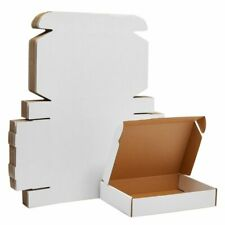 White Corrugated Shipping Boxes Cardboard Literature Mailers 11x8x2 25 Pack