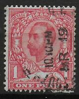 SG336Wi. 1d.Scarlet (Die B) Wmk.S.Cypher Inv. Booklets Only. FU. Cat.£30.Ref.056