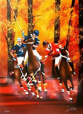 Victor Spahn - Polo (color lithograph, hand-signed & numbered, edition of 300)