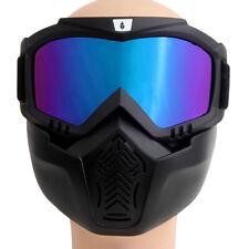 1 Stk Motorradbrille mit Maske Motorradbrille Motorradmaske Ski Brillen Bunt