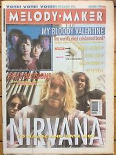 Melody Maker 2/11/91 Nirvana cover, Throwing Muses, My Bloody Valentine