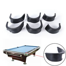6pcs/set billiard pool table valley pocket liners rubber billiard accessory F&F