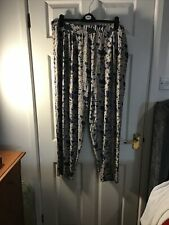 Harem Trousers Size 22/24 From Evans Multi Coloured Palsely